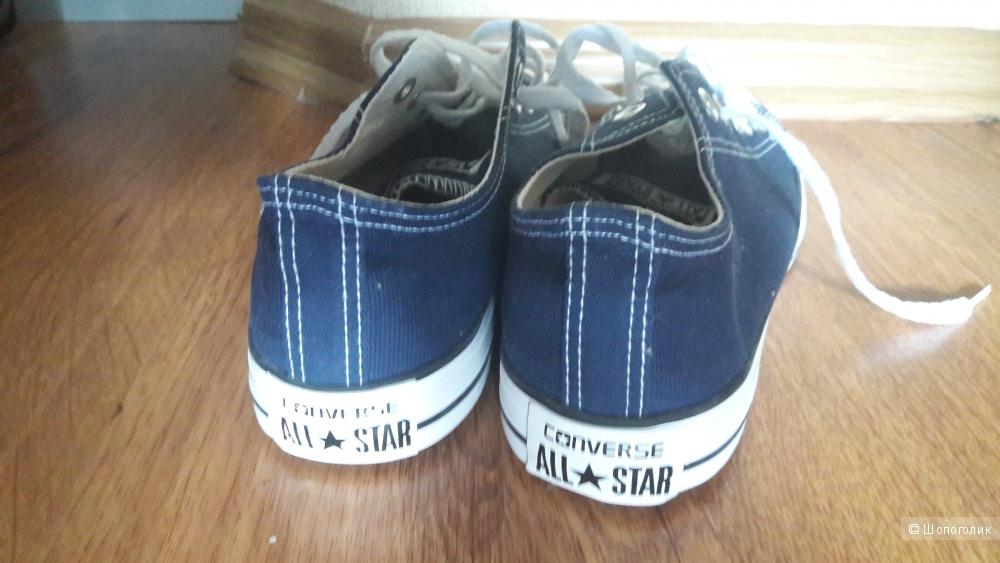 Кеды Converse новые  39р (по стельке 25,5см) цвет синий