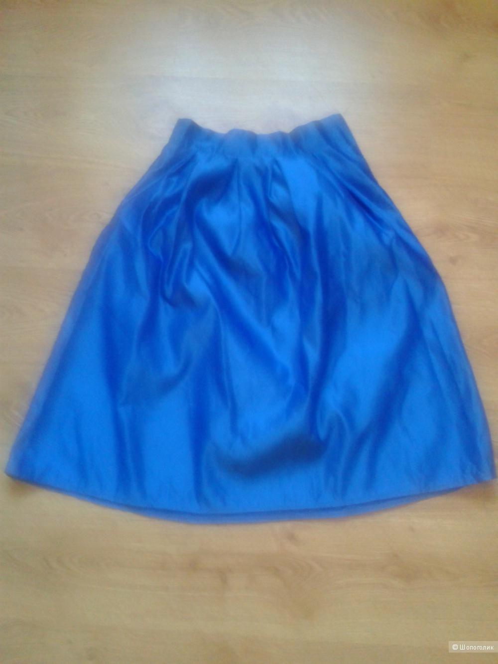 Новая атласная юбка