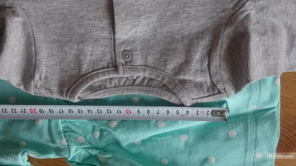 Комплект Carters платье плюс кофта 100% хлопок 12 и 9 мес