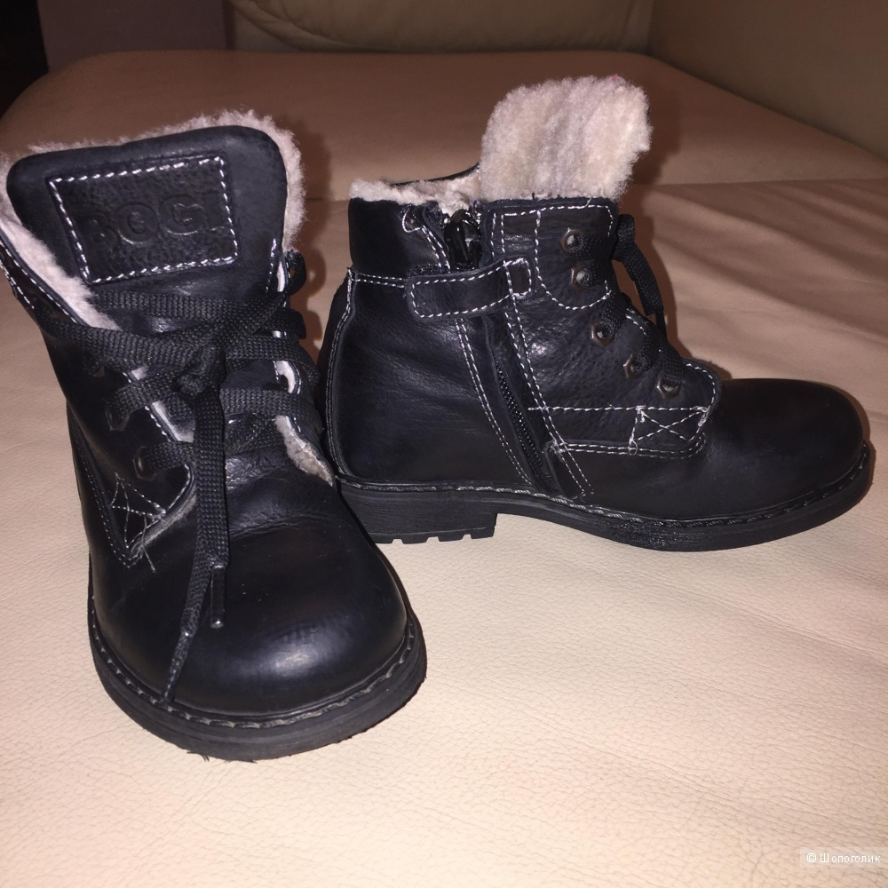 Зимние ботинки Bogi для мальчика оригинал