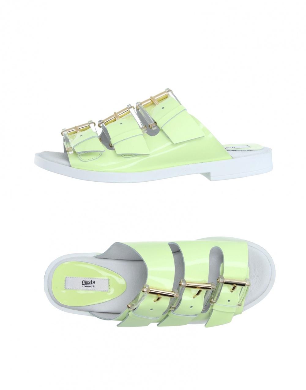 Новые кожаные сандалии Miista 41 размера
