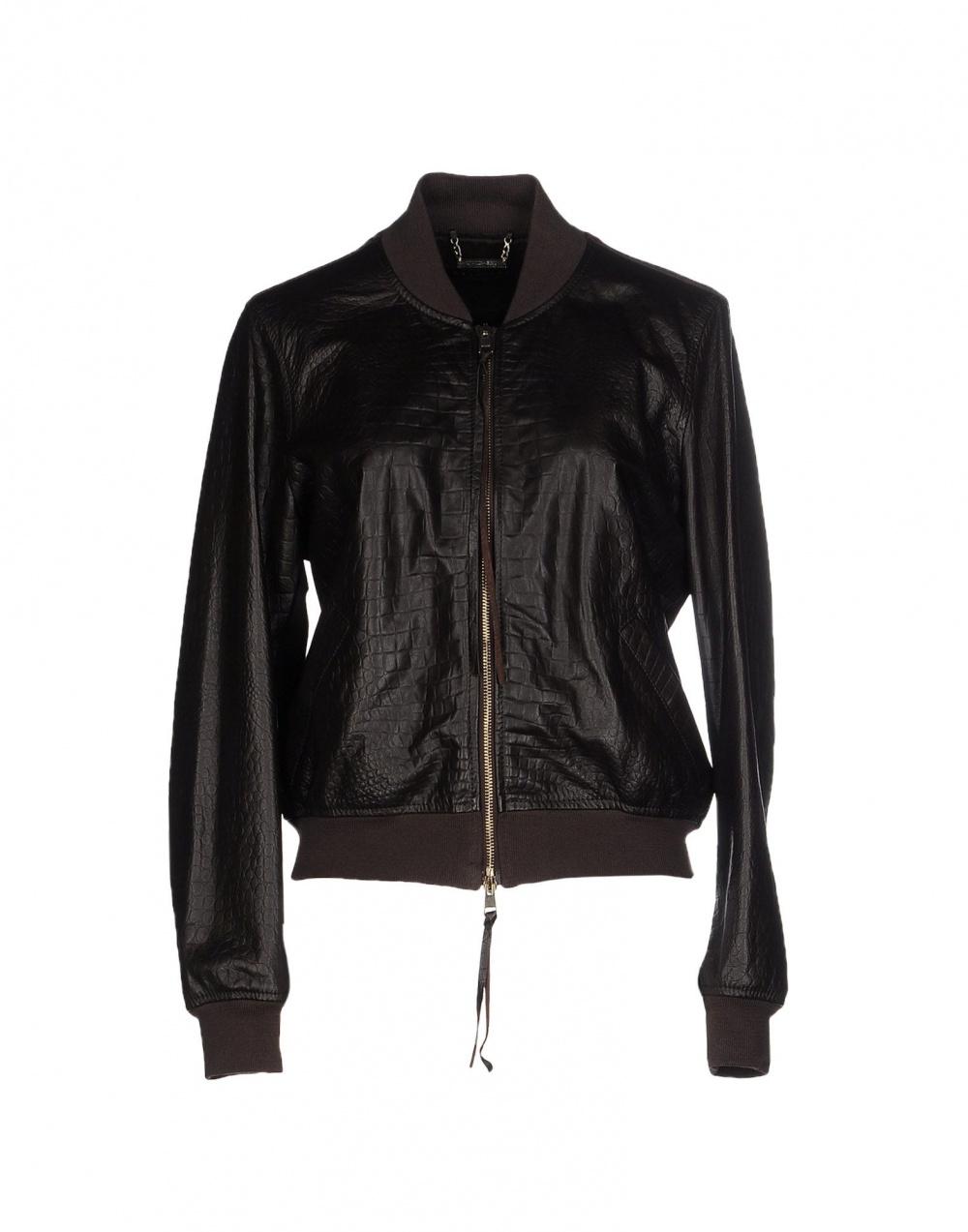 Новая кожаная куртка Twin set Simona Barbieri XL