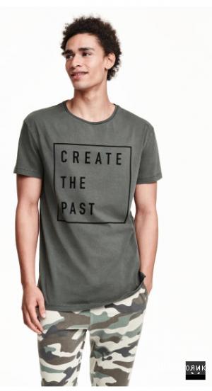 Новая футболка H&M размер M