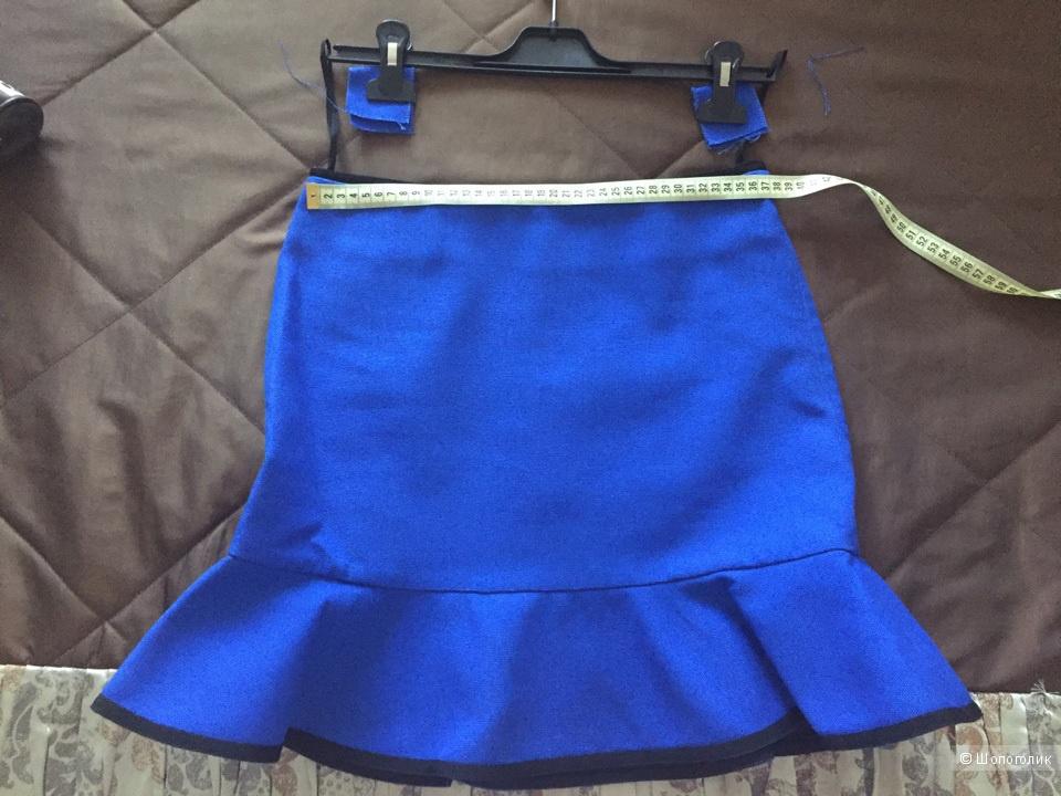 Victoria Victoria Beckham Юбка с оборчатым подолом.8 брит размер