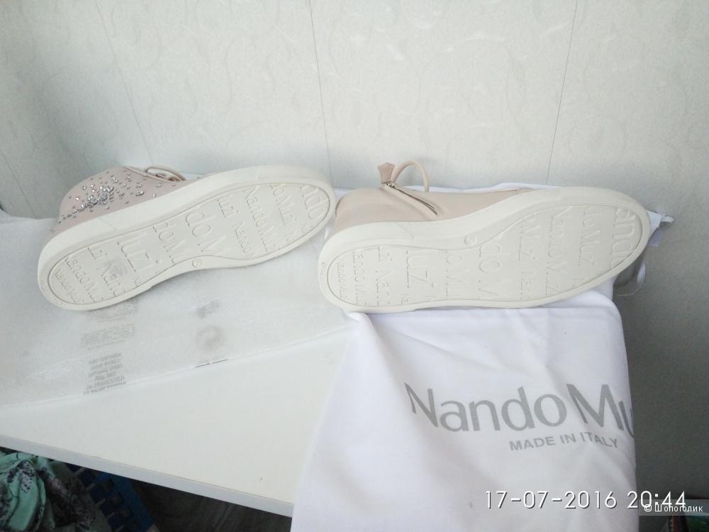Пристрою новые ботинки nando muzi