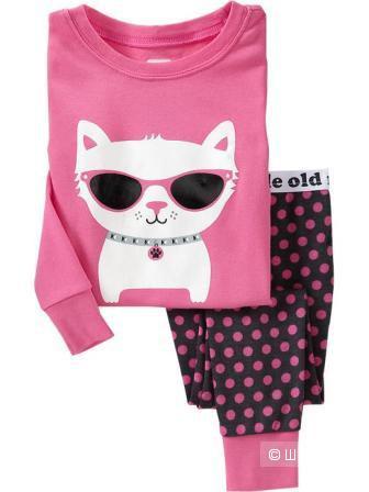 Новая пижама на девочку OLDNAVY 12-18 месяцев