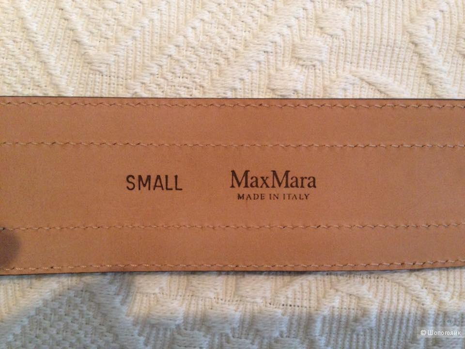 Ремень Max Mara, новый, оригинал, т.синий+коричневый
