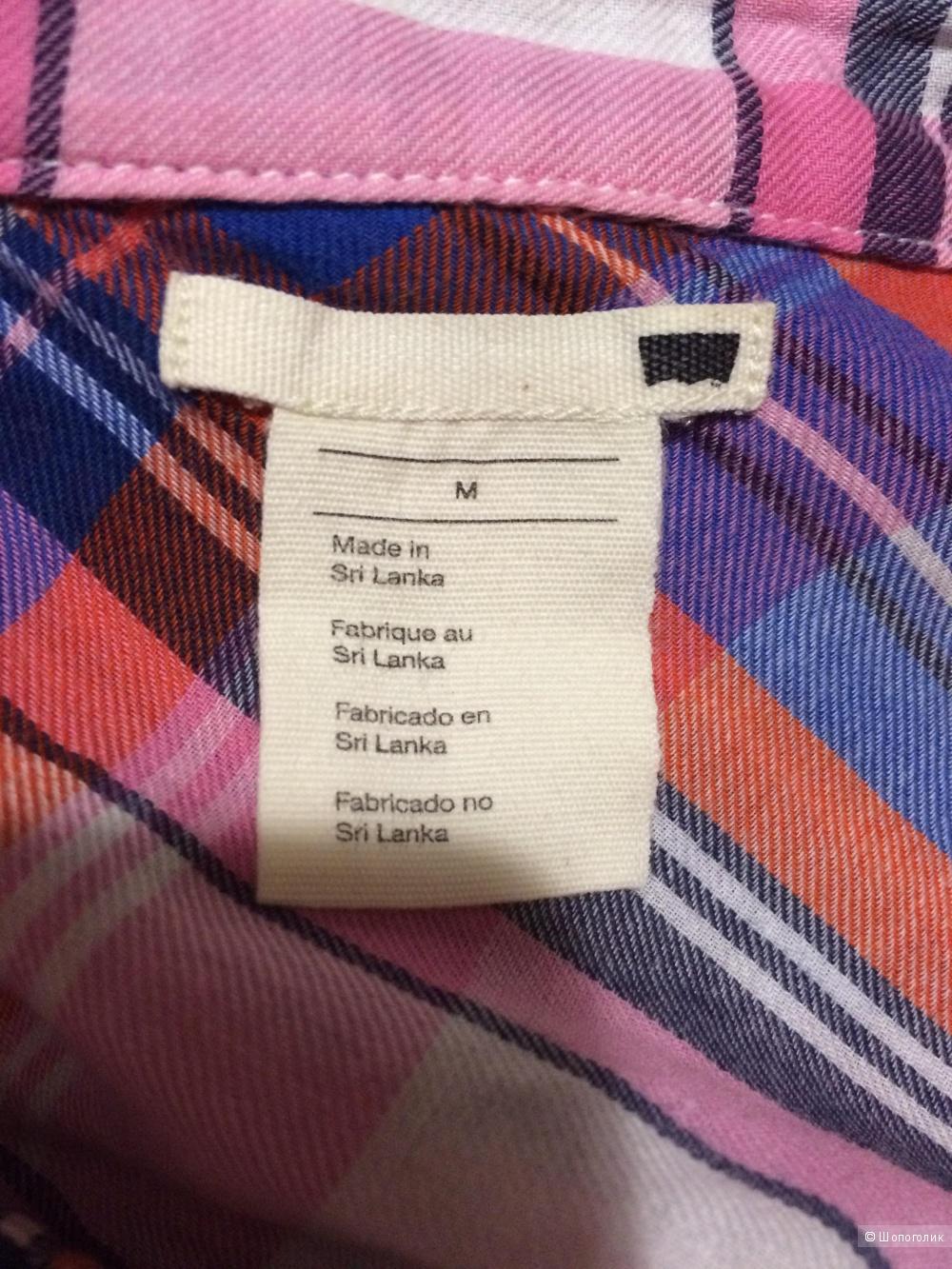 Рубашка в клетку Levis из тонкого хлопка, размер M
