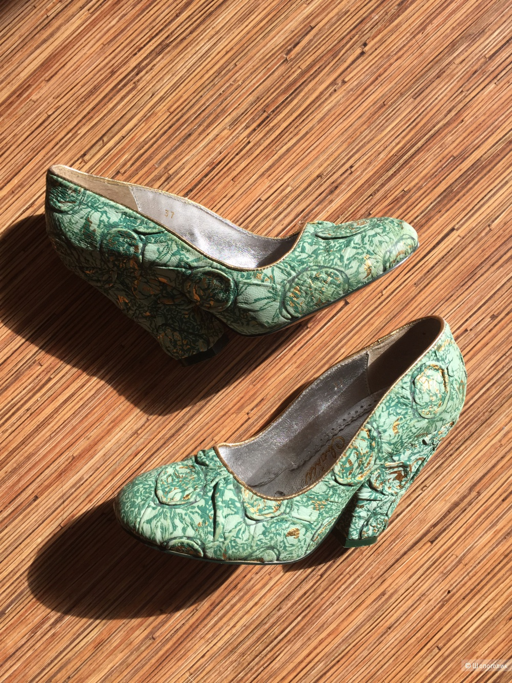 Туфли Irregular choice 37 р-р натуральная кожа