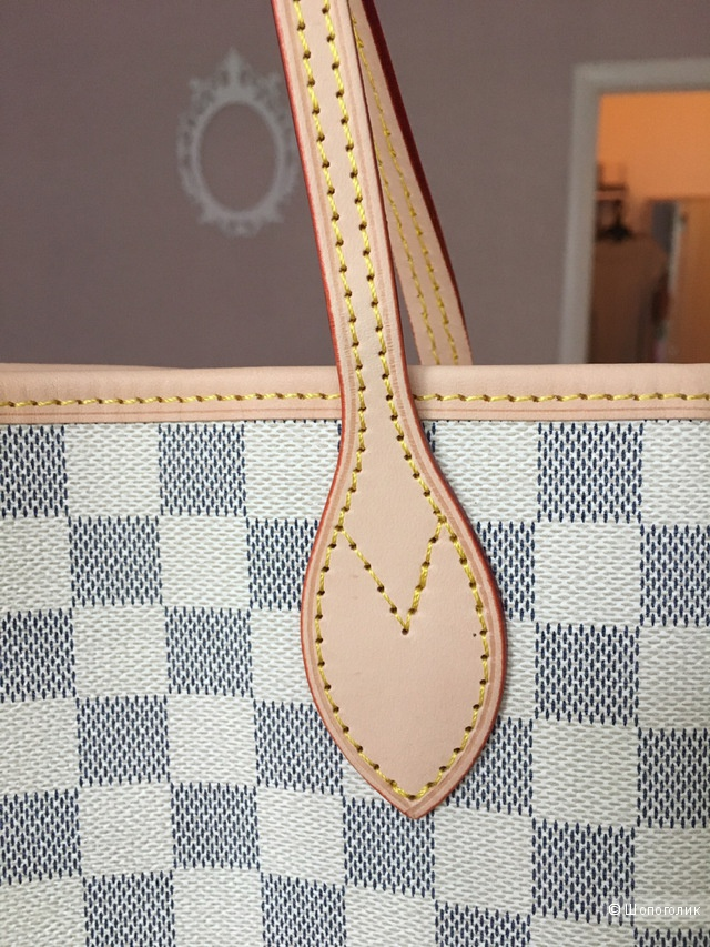 Сумка Louis Vuitton Neverfull azur mm