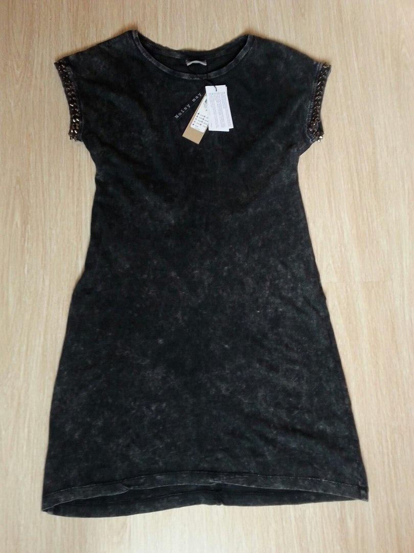 Трикотажное платье с заклепками Noisy May
