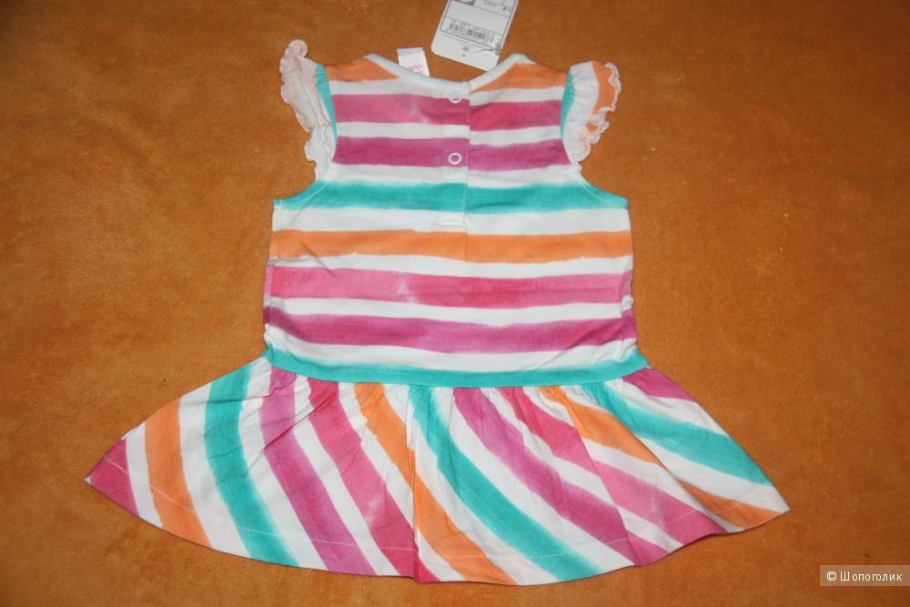 Новое платье размер 74 от Palomino C&A