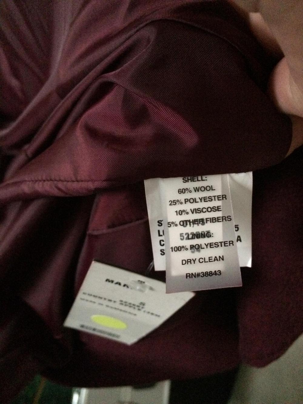 Шерстяное пальто T Tahari Marla Wool Wrap