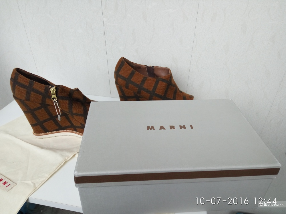 Продам совершенно новые ботинки Мarni