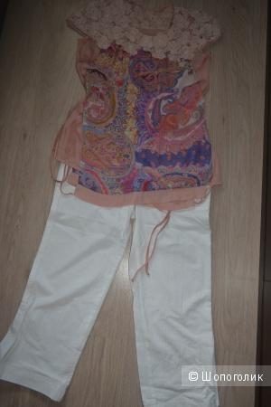 Новый костюм (блузка и брюки), 48 размер