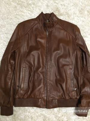 Новая мужская кожаная куртка Турция