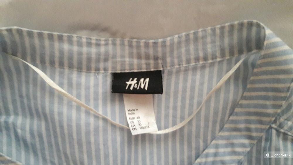 H&M:  платье-рубашка