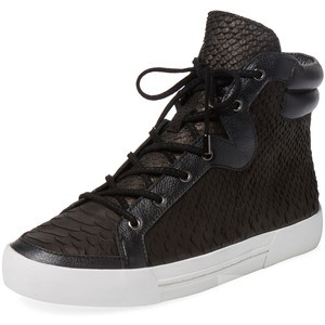 Высокие кеды Joie Devon Anaconda Embossed Leather  Size: 36.5