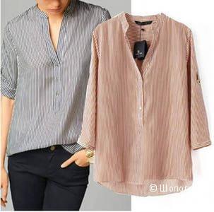 Еще одна туника-рубашка цвета фуксии
