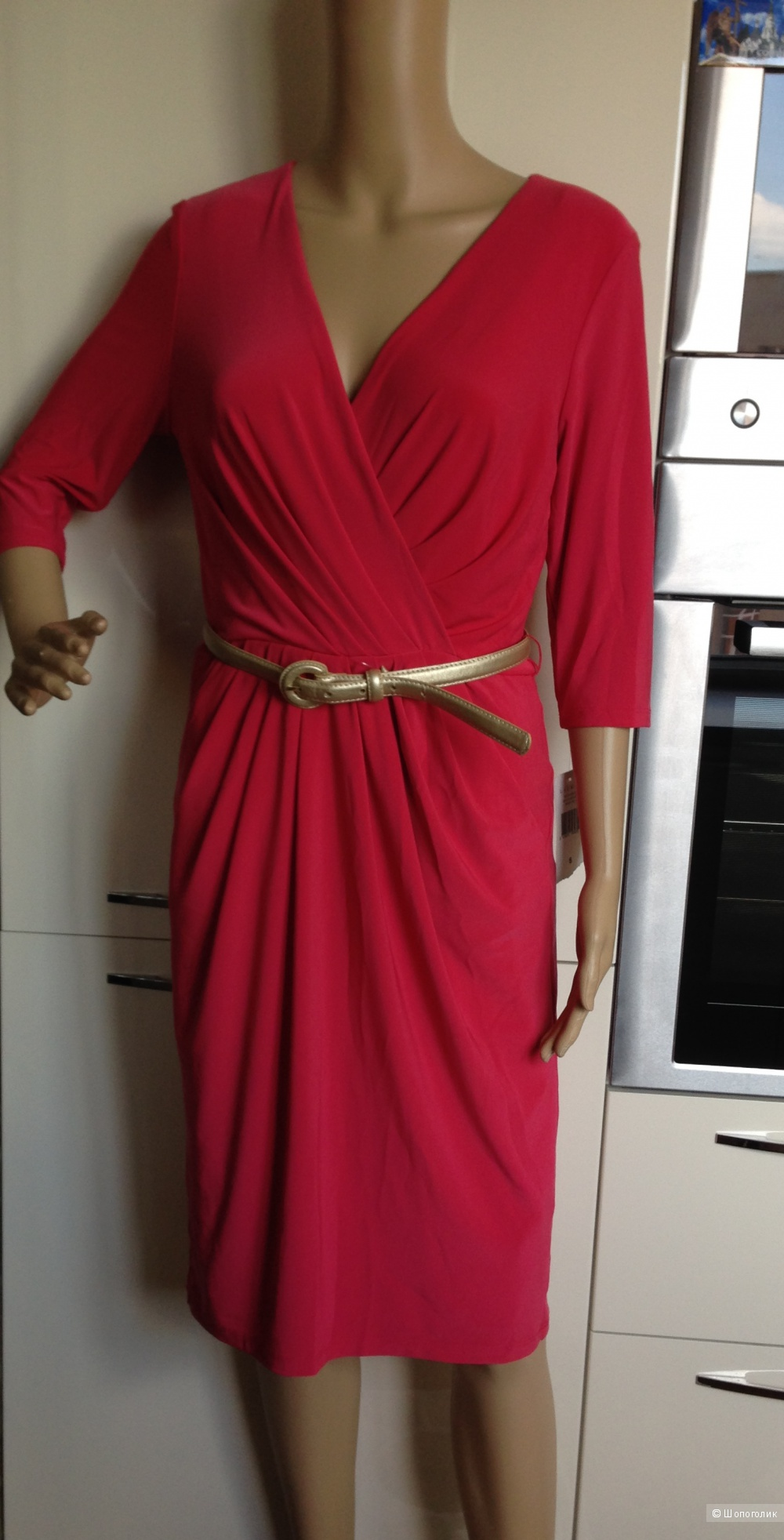 Красивое платье для офиса от Ralph Lauren Новое.Оригинал.р.44