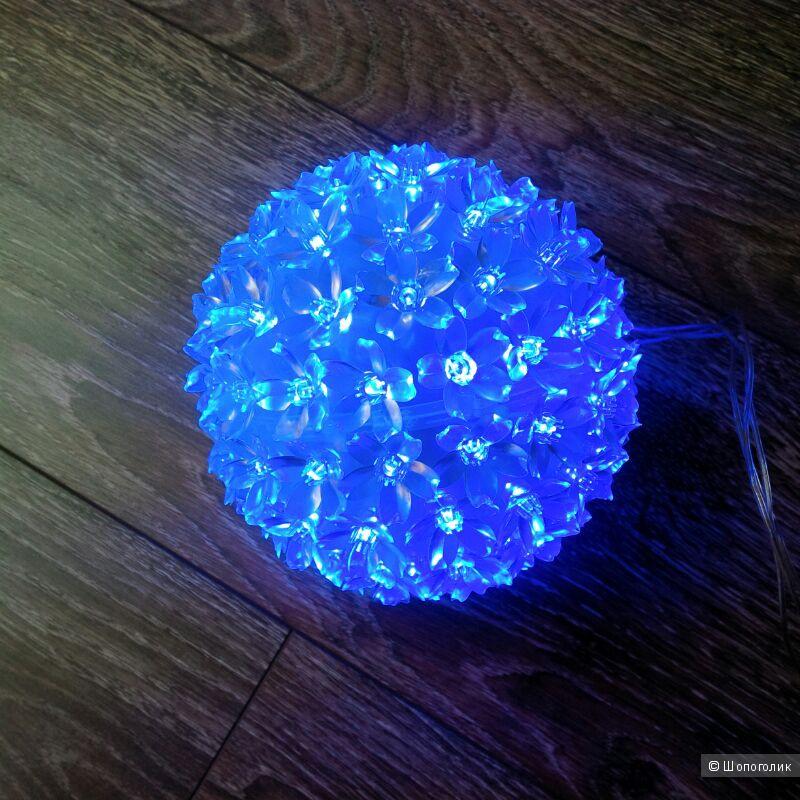 Светодиодный шар с цветами сакуры.