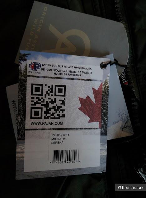 Пуховик Pajar Canada аналог Canada Goose
