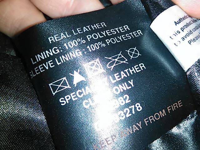 Новая мужская кожаная куртка Barney's Leather Biker Jacket - Brown / XL
