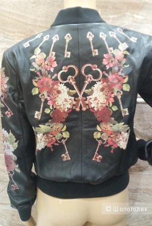 DOLCE&GABBANA легендарная кожаная куртка с ключами р.44 Новая Оригинал