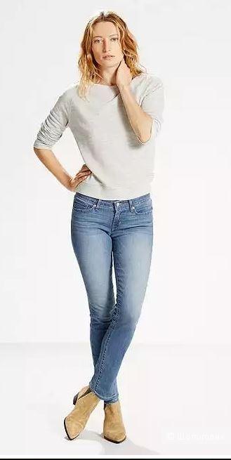Продам джинсы  Levi's 711  длина: 32 , Размер: 29 , Цвет: WORN FADE