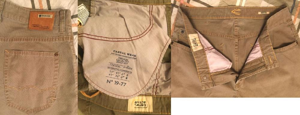 Новые джинсовые брюки Camel Active, р. 36/34