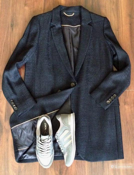 Серебристо-серые кроссовки DKNY 38-38.5