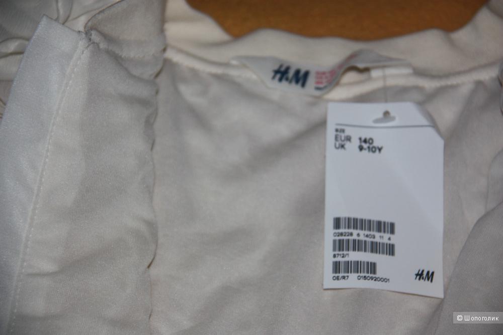 Новый шифоновый жакет на девочку на рост 122-140 см (H&M)