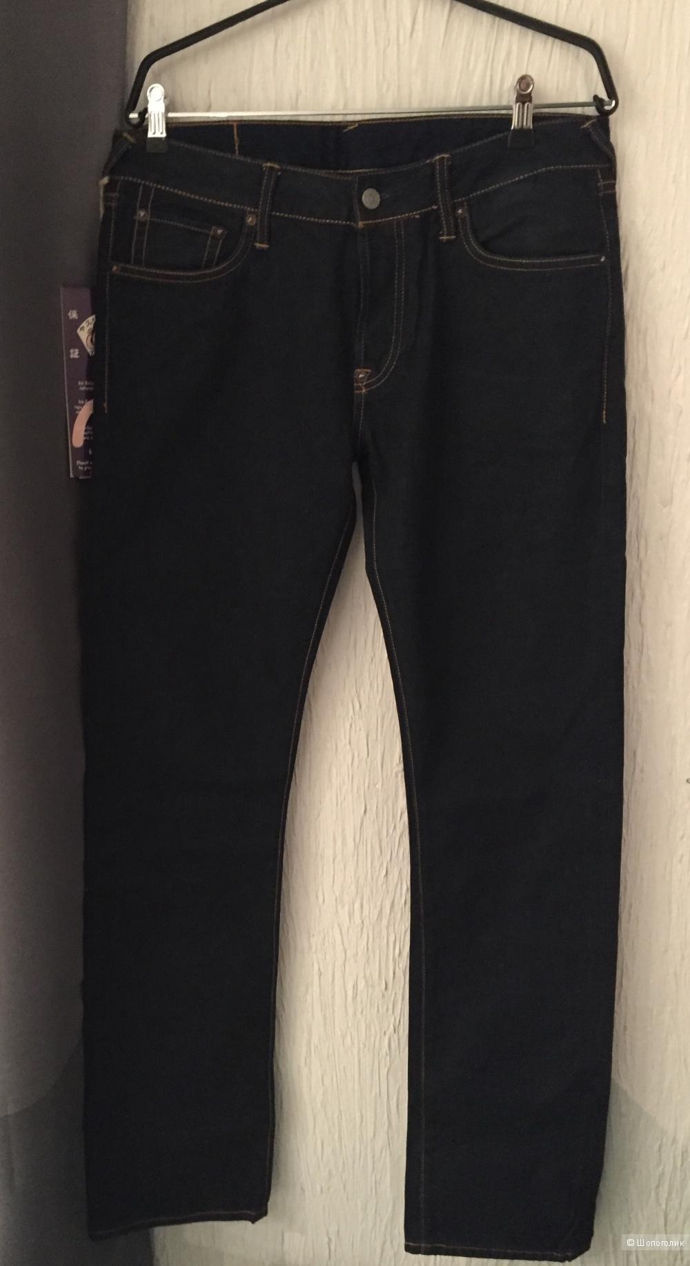 Новые джинсы Evisu Genes, размер 34