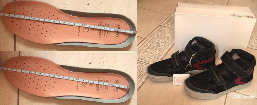Новые высокие  кроссовки GEOX р.40