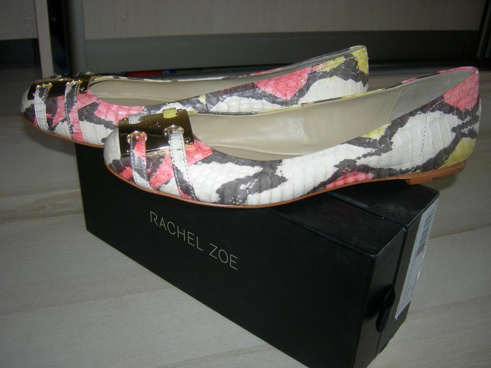 Кожаные балетки Rachel Zoe
