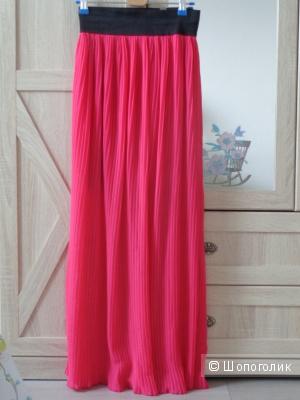 Новая юбка плиссе Италия 42-44 размер