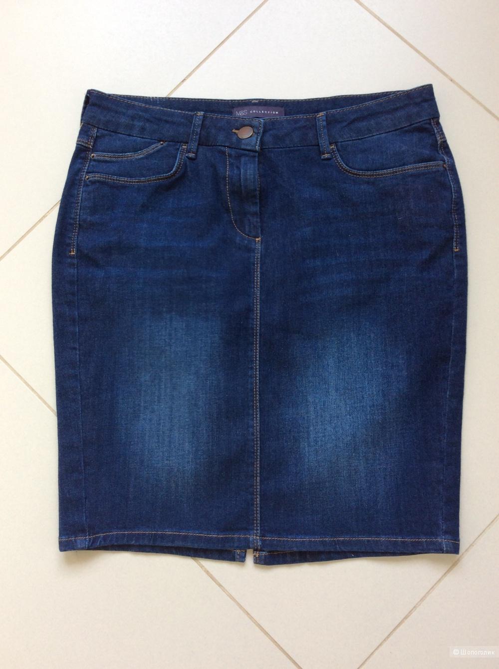 Джинсовая юбка M&S UK12