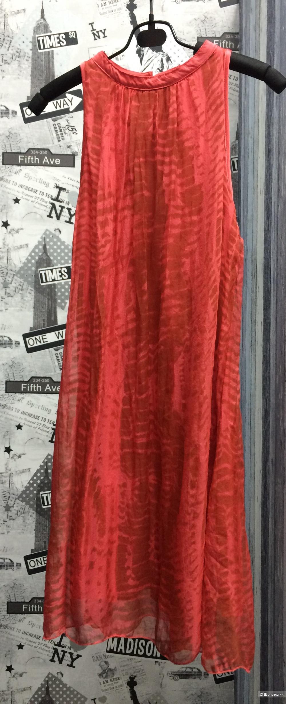Новое шёлковое платье Италия