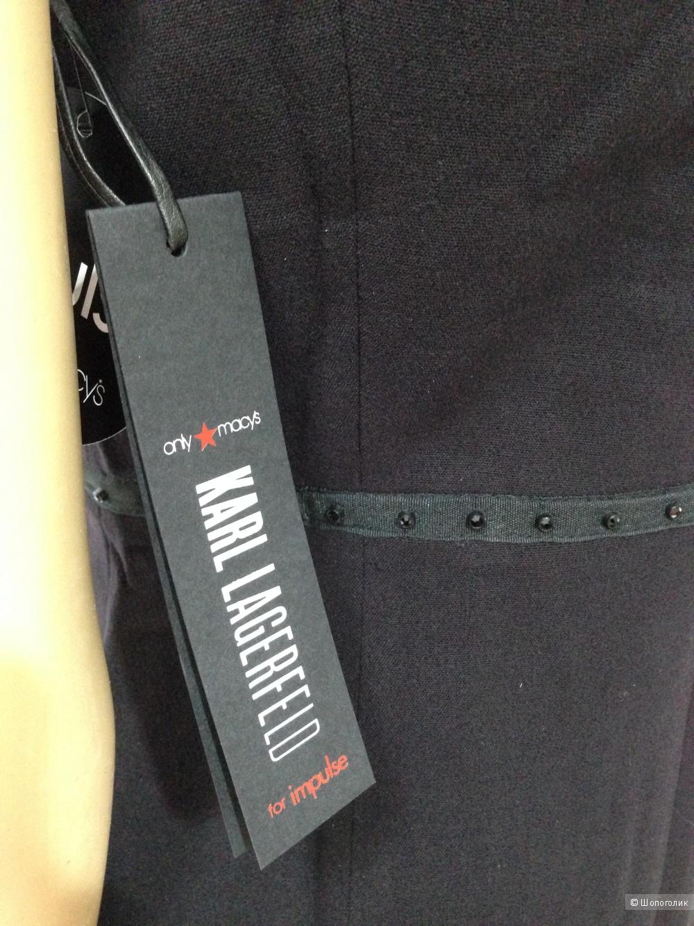 Изумительное платье от дизайнера CHANEL Karl Lagerfeld р.44 Новое.Оригинал