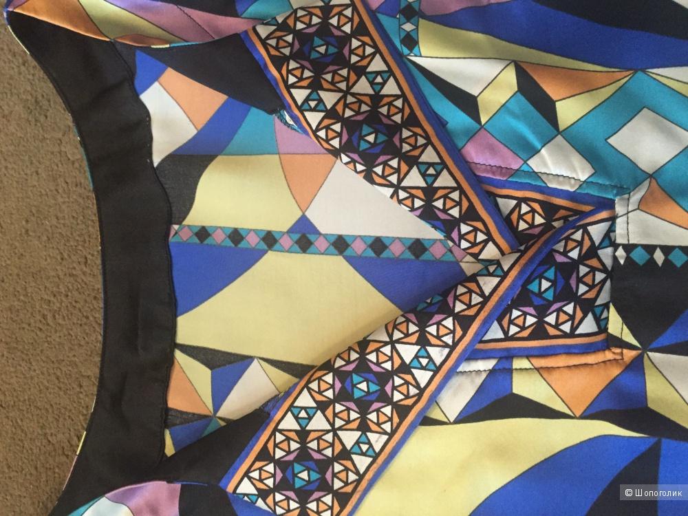 Платье-рубашка из натурального шелка