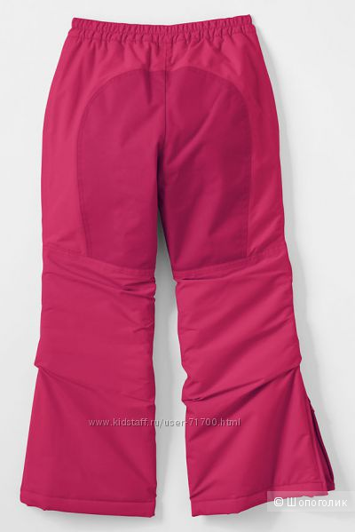 Новые Girls Squall Snow Pants Lands End, р. 16, взрослый S, M