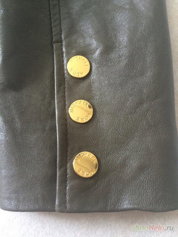 Кожаная куртка Michael Kors