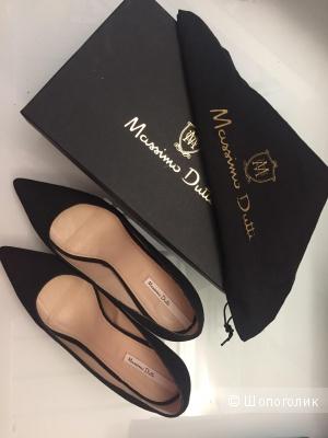 Туфли замшевые Massimo Dutti
