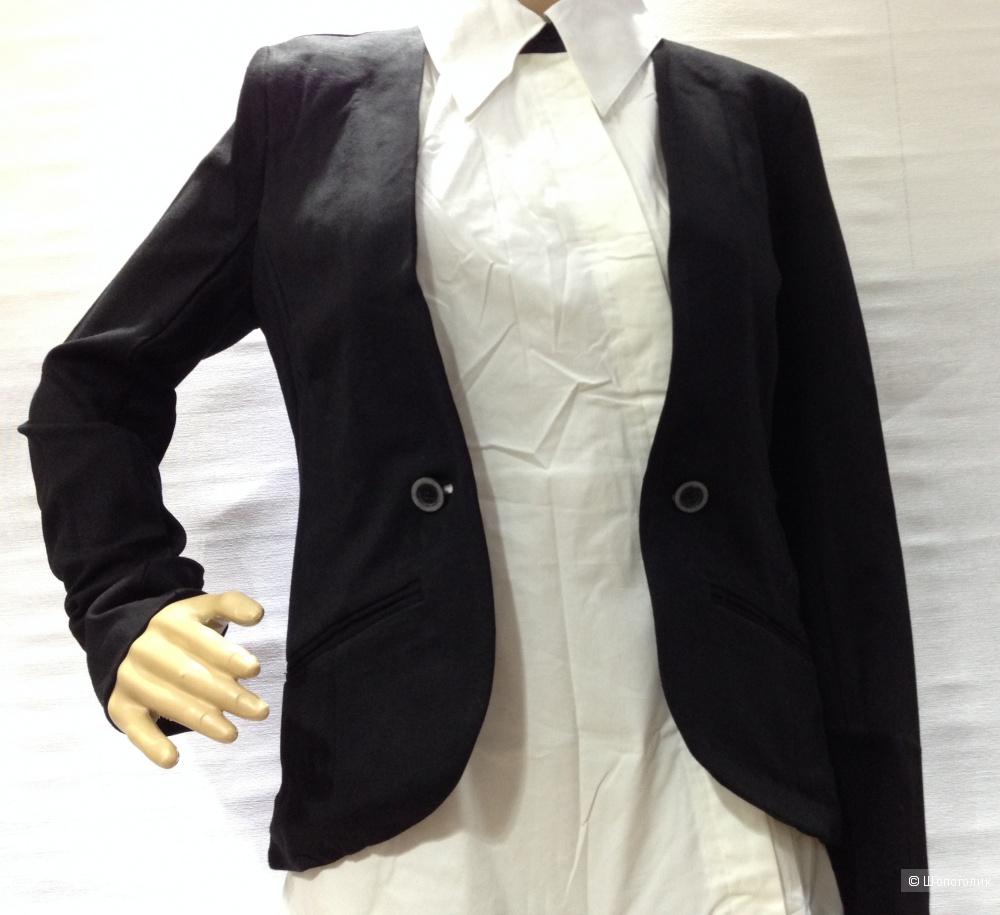 Изумительное платье с жакетом от дизайнера дома CHANEL- Karl Lagerfeld р.44 Новое.Оригинал