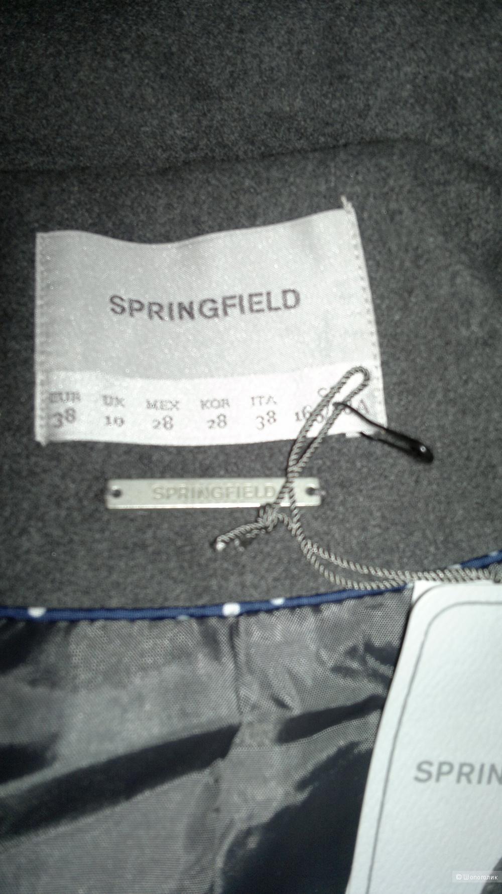 Новое с бирками пальто-жакет Springfield
