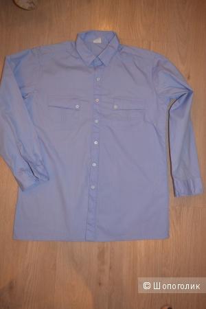 Классическая мужская сорочка, 50-52 размер