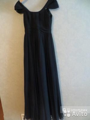 Шелковое платье от Basix Black Label. (США). б\у один вечер на 1час. Платье безупречного качества, очень элегантное.
