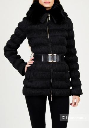 Зимняя куртка на натуральном пуху в идеальном состоянии. 42-44 размер. Мех-натуральный стриженный кролик.