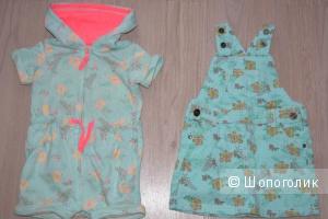 Одежда для девочки на рост 74-80