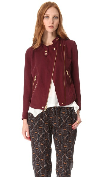 Жакет  Club Monaco Elsa Moto Jacket, размер XS